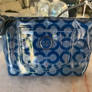 Coach Blue Navy Purse  / With Authenticity Tag
